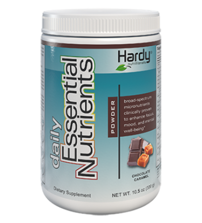 Hardy Daily Essential Nutrients Powder Chocolate Caramel Flavour 250g