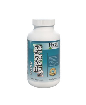 Hardy Daily Essentials Nutrients (360 Capsules)