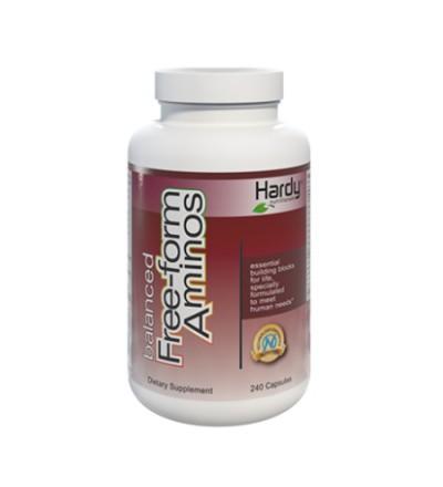 Hardy Free Form Aminos (240 capsules)