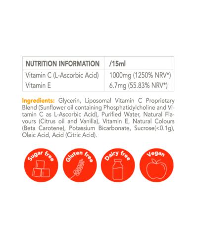 Vitamin C Zooki – Liposomal Vitamin C – 30 Sachets